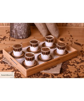 Fervia - Set of 6 Coffee Cups