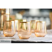 Stella - 6 Pcs.Glass Short 425 ml